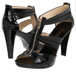 Michael Kors Berkley T-Strap Platform Dress Sandal